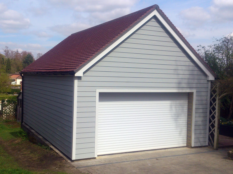 Weald building services carpentry hardie cladding kent for Garage extension cost estimate